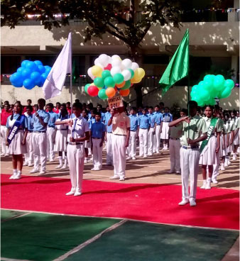 Annual Sports Day at Sarvajna School