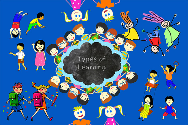 Types of Learning in Sarvajna CBSE School in Vijayanagar